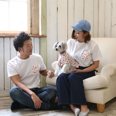 Vagueからの新提案!愛犬とお揃いのお洋服で「大人のアロハペアルック」